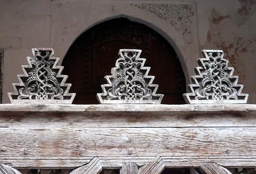 Merlones de la medersa de los andaluces (Fez)