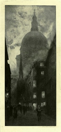 016-San Pablo desde la calle Watling-London impressions 1898- William Hyde