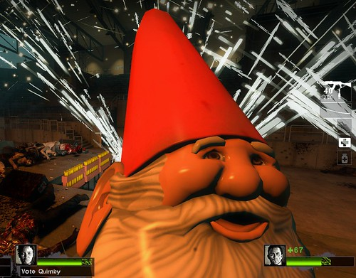 I Played Through Left 4 Dead 2 Holding A Goddamn Gnome - a post on