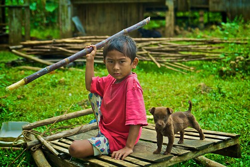 Philippines Boy and Dog by moyerphotos, on Flickr