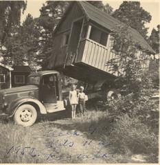 Mobile Home 1952 (ART NAHPRO) Tags: home mobile truck sweden lorry sverige gotland slite