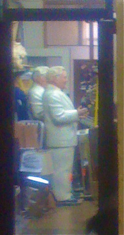 The colonel and his doppleganger