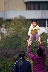What an Enjoyment! (Ali Majdfar) Tags: china childhood parents child jinhua anawesomeshot