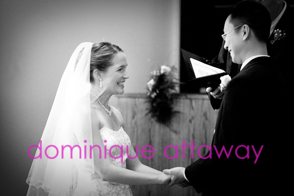 church wedding photo black and white