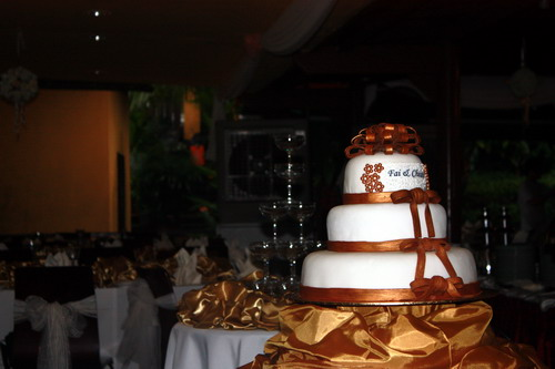 Fai & Chean wedding cake 5