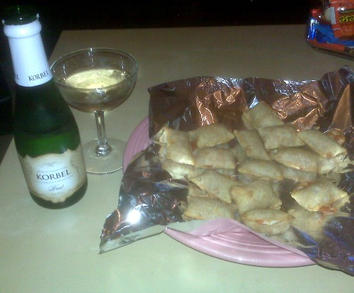 Pizza Rolls and Champagne