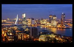 The city of Rotterdam (scrabble.) Tags: holland netherlands skyline rotterdam skyscrapers neworleans montevideo hotelnewyork euromast erasmusbrug theswan erasmusbridge wilhelminapier dezwaan theaterhetnieuweluxor
