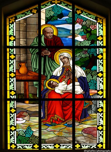 19 | The Nativity in stained glass