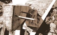 Nail (siraj_fastrack) Tags: wood macro nikon rust board nail it nailed