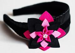 2inblkpnk-1 (Total City Girl) Tags: etsy headband feltflowers hairaccessory totalcitygirl