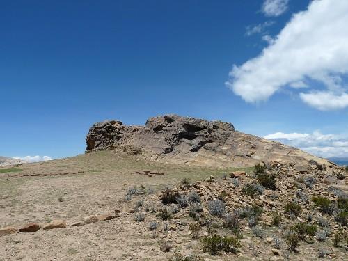 der Puma-Stein (Titicaca)