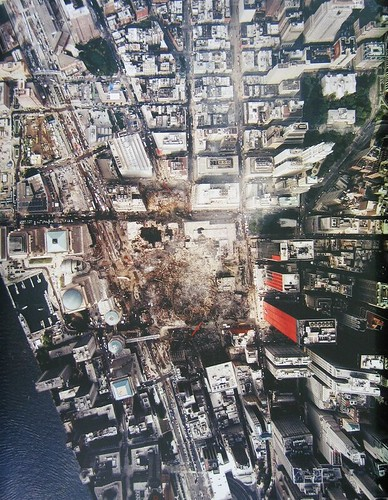 Aerial View of Ground Zero, 2001