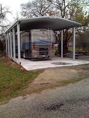 SteelMaster Large Steel RV Storage