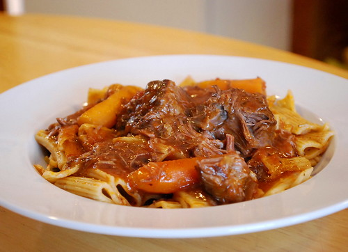 Braised Short Rib with Ziti