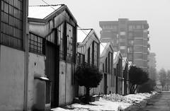 (...uno che passava... (senza ombrello)) Tags: urban bw italy anna bn bncittà zingonia ciserano cittàdiffusa
