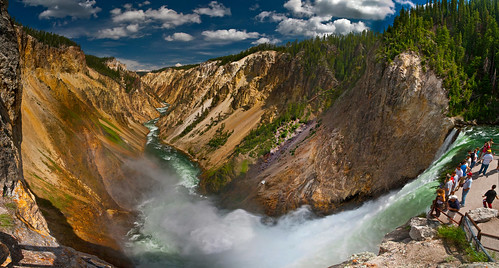 """Yellowstone, canyon"" by macleod on flickr"