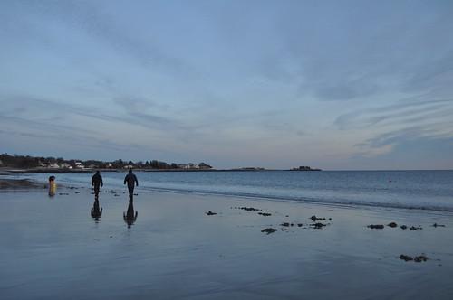 Clammers at Beach