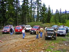 Offroaders gathering (Trystian Sky) Tags: 4x4 olympus trucks offroading memorialdayweekend c4040 cleelumlake c4040z olympus4040z 4040z olympus4040zoom