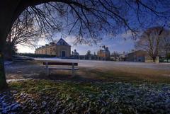 La Mothe Saint-Hray - orangery from the park (Tony Emmett) Tags: france architecture landscape landscapes sony alpha hdr a100 southwestfrance sigma1020mm deuxsvres poitoucharente sigma1020mmf456exdc sonyalphaa100 lamothestheray platinumpeaceaward lamothesainthray gifrancejan12