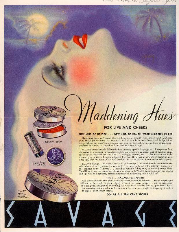 1930s makeup 2
