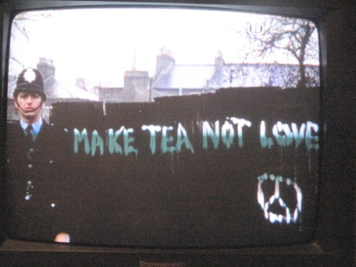 Make tea not love