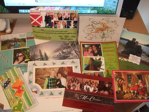 Xmas cards 2009