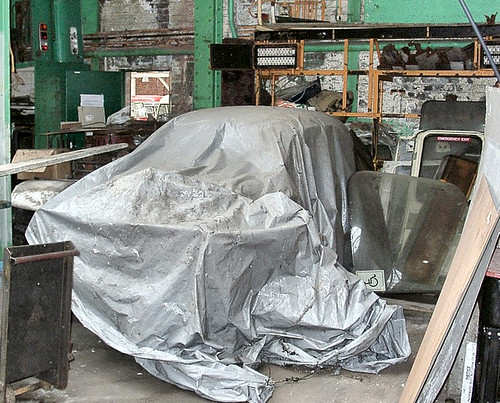 Car under tarpaulin challenge 2
