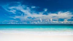 [フリー画像] [自然風景] [ビーチ/海辺] [海の風景] [セーシェル共和国風景] [ラ・ディーグ島]      [フリー素材]