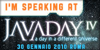 Speaking at Javaday 2010