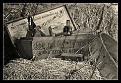 Wimpole Hall Farm: Medicine Box (--CWH--) Tags: chris blackandwhite hall farm medicine hay nationaltrust englishheritage humphries d40 visitengland nikond40 wimpolehallfarm enjoyengland chrishumphries animalshootscom animalshoots