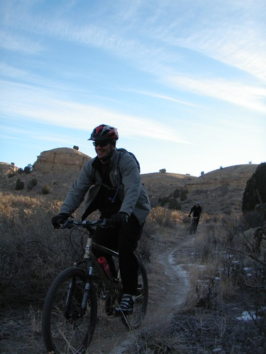 Andy and Lubes in Skull Canyon