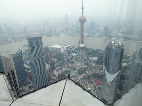 Shanghai from the Jin Mao Tower