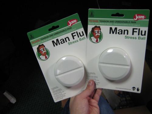 Man Flu Stress Relivers
