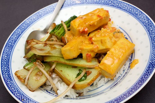 tofu rendang