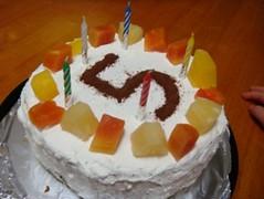 chibinet-20071117 誕生日ケーキ