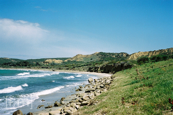 The shores of ANZAC Cove