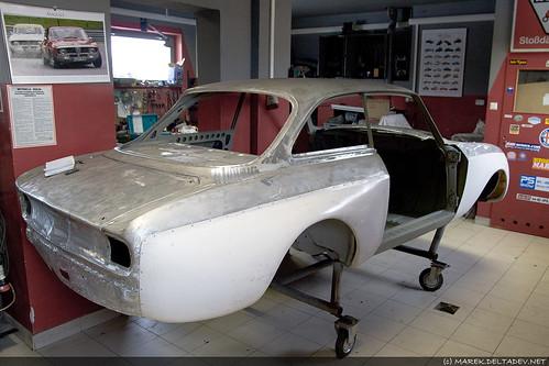 Buda Giulii GTA 1300 Junior Corsa, przygotowywana do obecnego sezonu