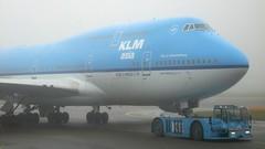 KLM Boeing 747-400 PH-BFY (swiss_a320) Tags: city b amsterdam fog airplane asia fuji jet s finepix 100 msn boeing klm schipol kl ams 406 johannesburg 747 jumbo fs b747 747400 eham 744 b744 skyteam 30455 747406 s100fs msn30455 phbyf