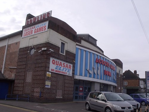 Acocks Green Bowl, Westley Road, Acocks Green (formerly The Warwick Super Cinema, then later the Warwick Bowl)