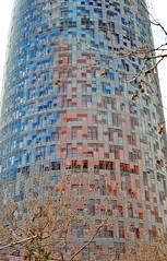 Torre Agbar (oldnikonian) Tags: barcelona torreagbar d700