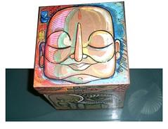 TAMPA (.  F L F  .) Tags: elephant art peace box buddha monk tibet caixa meditation elefante grafite monge franciscofreitas