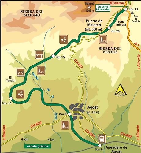 Vía Verde Maigmó
