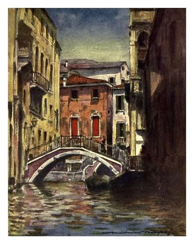 016- El canal Osmarin-Venice – 1904-Dorothy Menpes