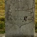 Headstone of Civil War Veteran Lawrence Smith, Morris Hill Cemetery, Boise, Id.