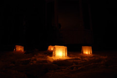 DSC_8462 (sayuri_30) Tags: winter snow ice night fire candle candlelight fireandice