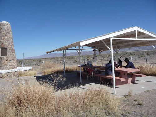 picnic on the way to new mexico.