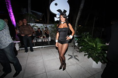 Playboy Super Bowl Party in Miami Beach, Florida (kjdrill) Tags: travel party usa bunnies hotel play florida miami playboy superbowl southbeach 824 blackeyedpeas sagamore