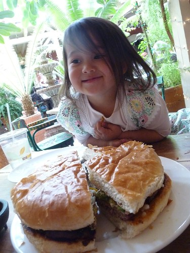 world's largest green chile burger.
