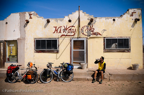 Most Of Valentine, TX Is Closed. Like This Abandoned Cafe.