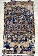 7th-8thc Sogdian Zandane from Brussels Musée d'art & d'histoire (julianna.lees) Tags: ancient silk textiles sassanian sogdian senmurvs zandane